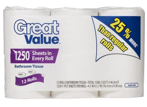 Which Brand Of Toilet Paper Is Best For Septic Tanks - walmart s best and worst toilet paper toilet paper tests