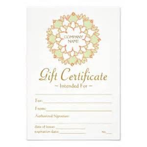 Yoga Gift Certificate Template Lotus Healing Arts Gift Certificate