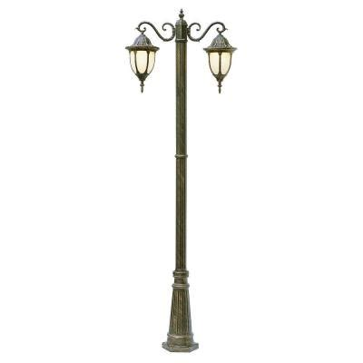 home depot christmas light pole bel air lighting cabernet collection 2 light 93 in outdoor rust pole lantern with white opal