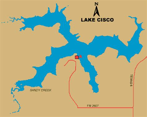 cisco texas map access to lake cisco