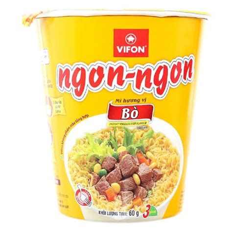 Instant Noodles Essay vifon hoang with beef strategic stock location 60g cup