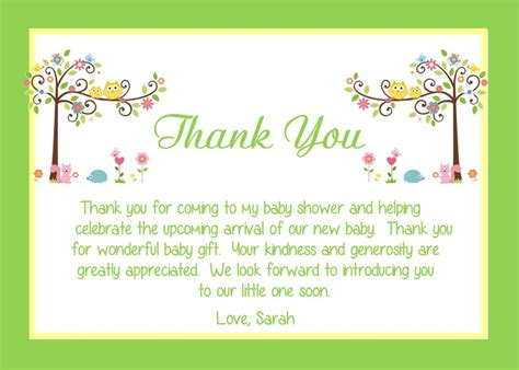 thank you so much for hosting my bridal shower baby shower thank you notes sle letter wording
