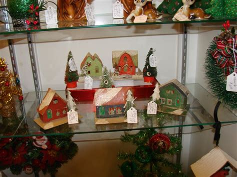 some vintage christmas decorations chirstmas pinterest