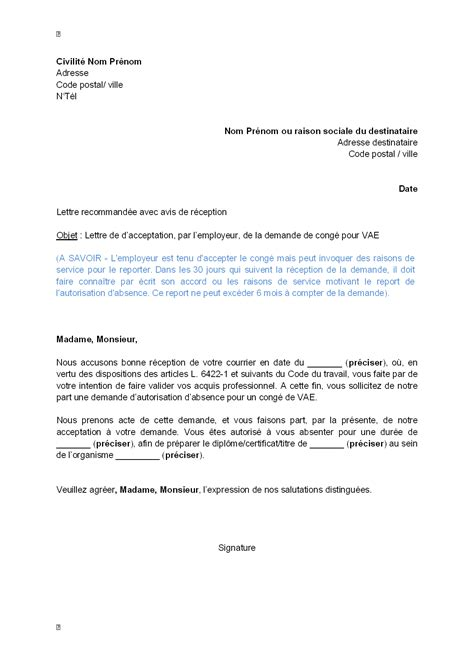 exemple de courrier mutation professionnelle