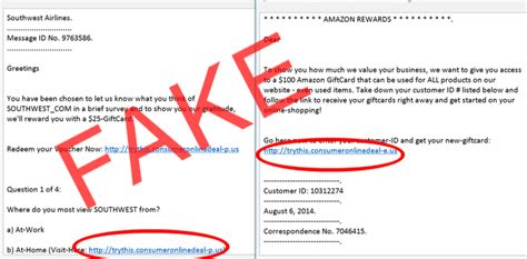 Fake Amazon Gift Card Email - debunking email scams information technology drexel university