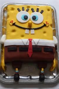 sponge kuchen spongebob torte kuchenschock