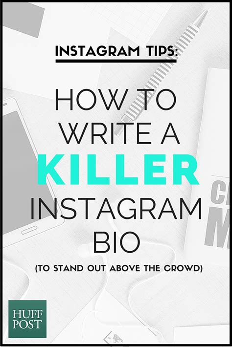 graphic design instagram bio how to write a killer instagram bio to stand out above