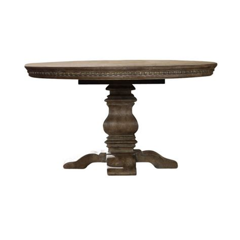 pedestal dining table with leaf furniture sorella pedestal dining table with
