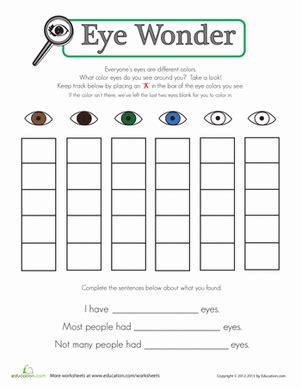 printable eye color chart eye color chart worksheet education com