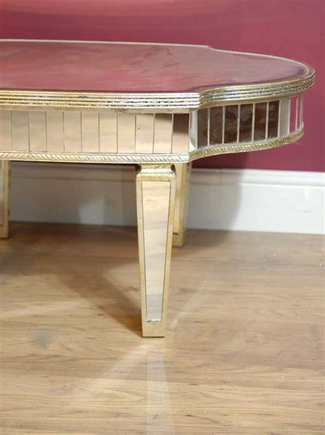 Mirrored Glass Coffee Table Deco Mirrored Coffee Table Tables Glass Mirror