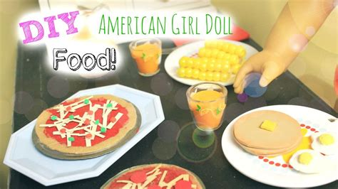 How To Make Doll Food Out Of Paper - how to make american doll food out of paper 28 images