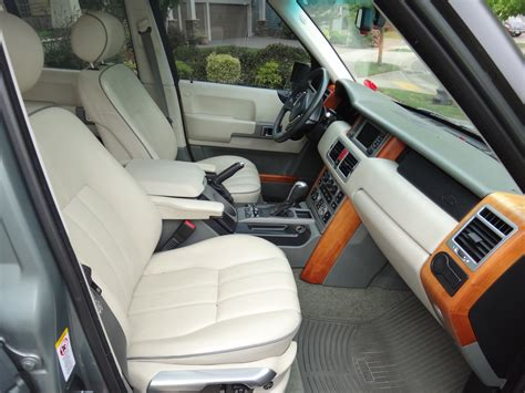 2003 Land Rover Interior by 2003 Land Rover Range Rover Pictures Cargurus