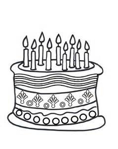 birthday cake coloring page birthday cake coloring pages coloring