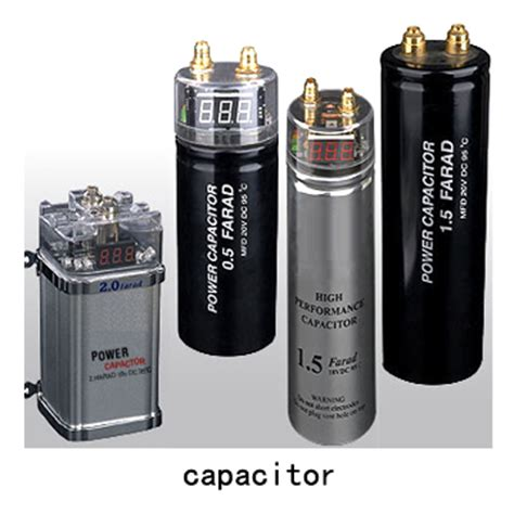 capacitor for car audio car audio capacitors by china ningbo cinco motor capacitor factory china