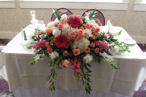table flower sweetheart table flowers buffalo wedding event flowers