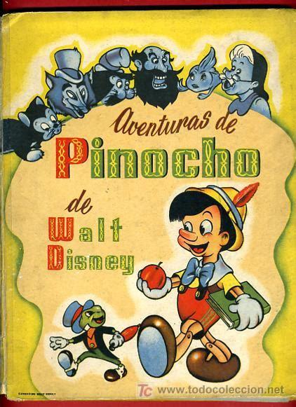 libro cuentos de bolsillo pinocho cuento antiguo aventuras de pinocho walt dis comprar libros antiguos de cuentos en