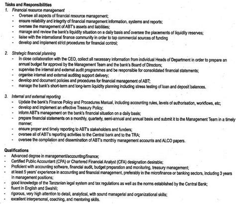 Duties Of Finance Manager description of financial manager ordnur textile and finance