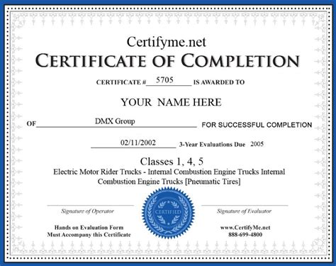 How To Get Forklift Certification Get Forklift Certified In 1 Hour Forklift Card Template