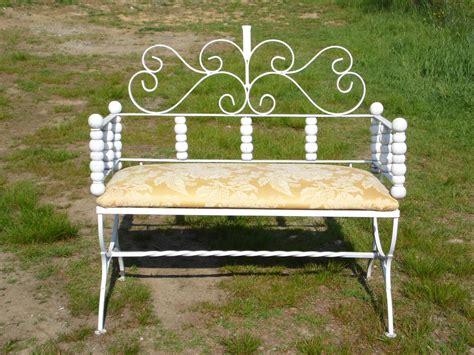 vintage mid century ls vintage mid century modern spancraft iron wood bench