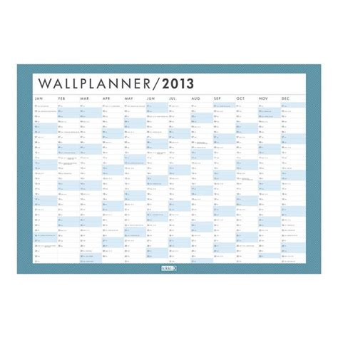 free 2016 wall planner printable free printable wall planner calendar template 2016