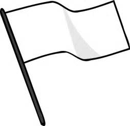 Outline Of Flag by Waving White Flag Clip At Clker Vector Clip