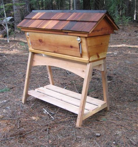 Top Bar Hives by Bee Hives Bees And Top Bar Hive On