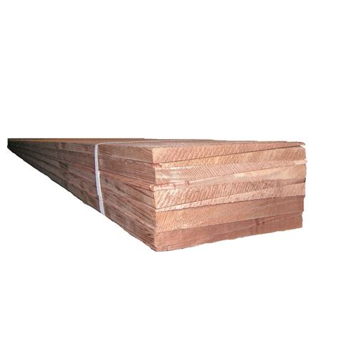 96 in cedar wood siding 10 pack 524041 the