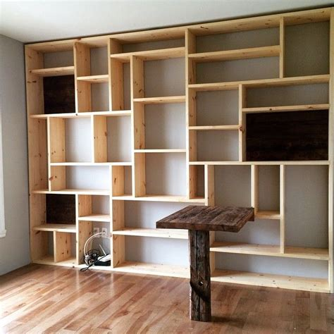 best 25 bookshelf design ideas on minimalist