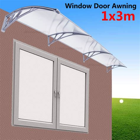 diy outdoor awning cover 1m x 3m diy outdoor window patio uv rain awning cover sun