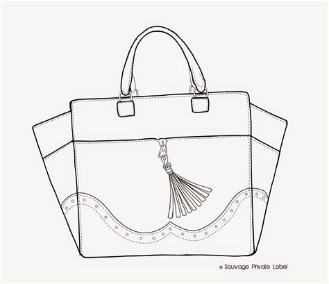 Sketches Bags by Fashion Designers Drawings Of Handbags Search