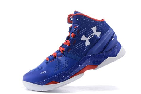 armour blue basketball shoes genuine armour curry two foam blue basketball shoes