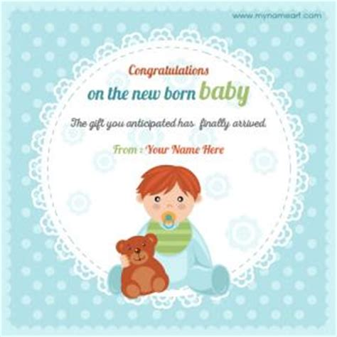 congratulations card for new baby template create congratulations on new baby born picture