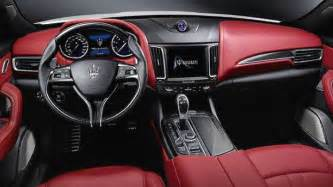 Maserati Internship Maserati Levante 2016 Abmessungen Kofferraum Und Innenraum