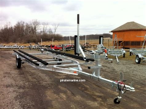 pontoon boat trailer for sale illinois aluminum tri axle boat trailer 27 30 ft 14300 lbs chicago