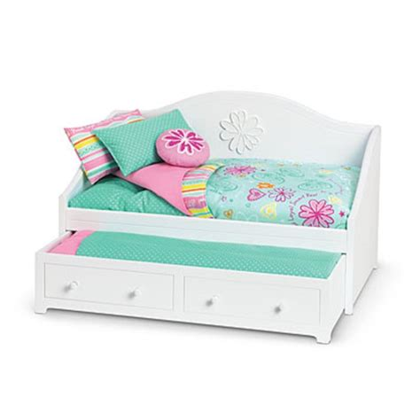 doll bedding american girl my ag duo dreamy daybed bedding doll white