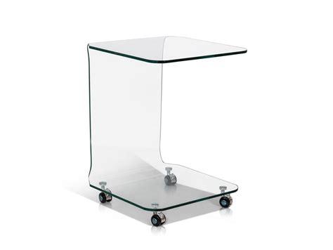 kleine beistelltische aus glas peppe beistelltisch glas