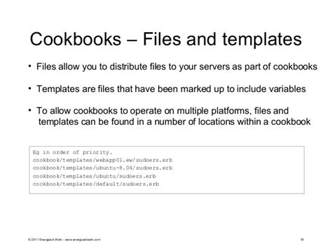 chef template variables chef managing yours servers with code