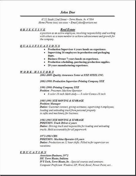 real free resume templates real estate resume exles sles free edit with word