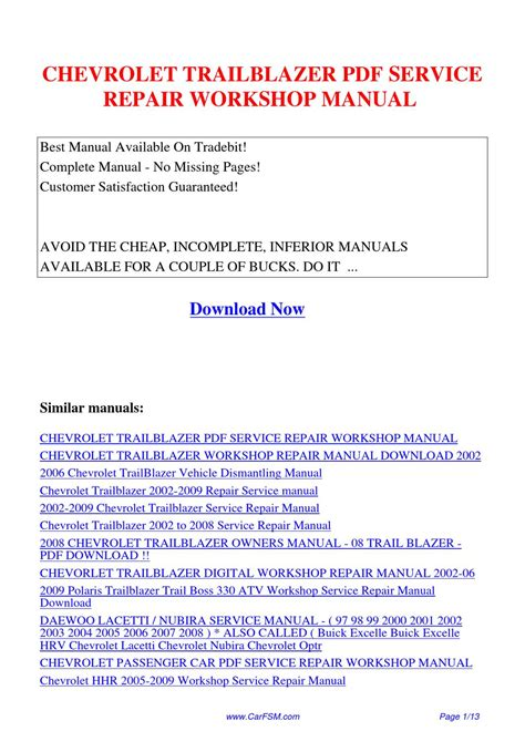 free online car repair manuals download 2004 chevrolet corvette free book repair manuals service manual chevrolet trailblazer 2004 owners manual download manuals t chevrolet