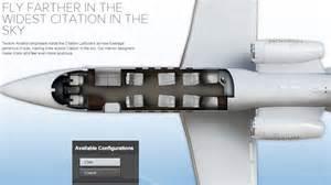 Quick Floorplan photos amp specs new citation latitude midsize jet charter