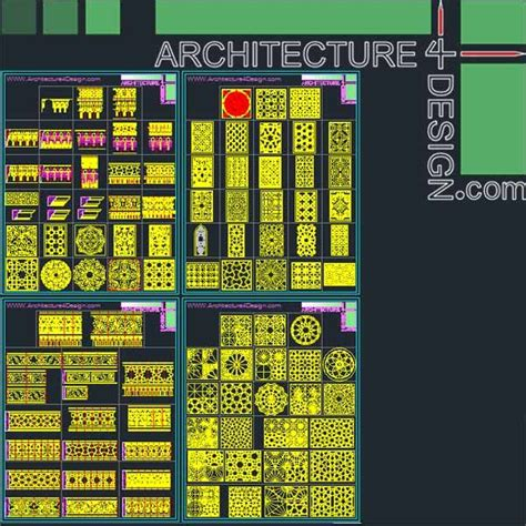 pattern islamic dwg 340 islamic architecture ornament motifs and arches for
