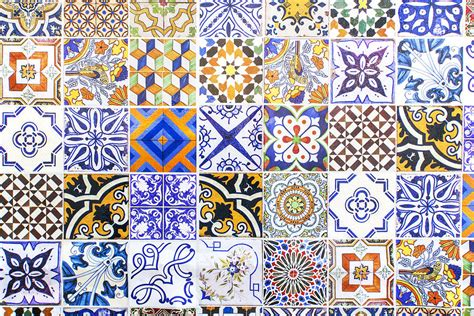 printinglarge drawing tiles hand painted portuguese ceramic tile photograph by andre