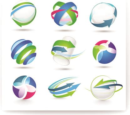 design free modern logo 3d logo design free vector download 69 892 free vector