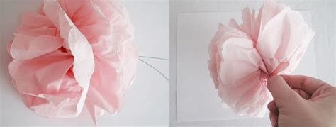 How To Make Flowers Out Of Paper Napkins - napkin paper flower tutorial design editor
