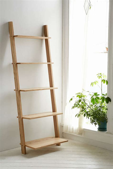 Best Furniture For A Shabby Chic Living Room Wood Ladder Bookcase