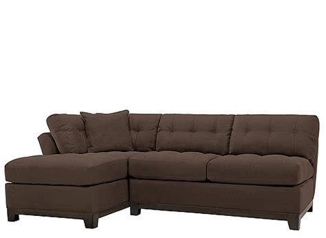 cindy crawford sectional couch cindy crawford home metropolis 2 pc microfiber sectional