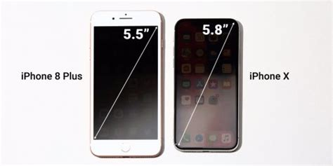ios how different iphone x actual screen size from iphone 8 plus stack overflow