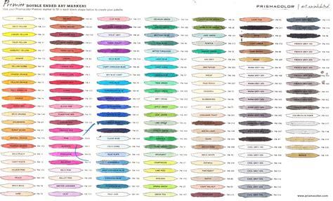 prismacolor marker color chart prismacolor marker color chart prismacolor premier ended