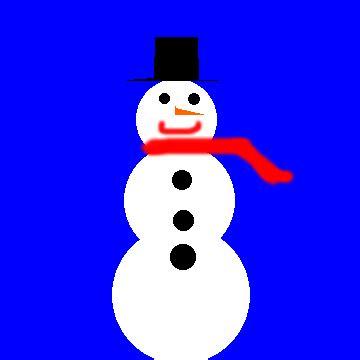 snowman gif find  gifer