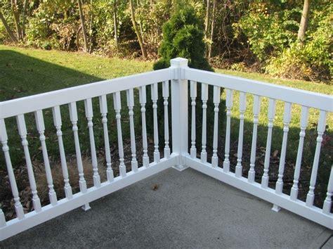 Pvc Porch Railing Systems best 25 vinyl deck railing ideas on vinyl deck vinyl railing and deck